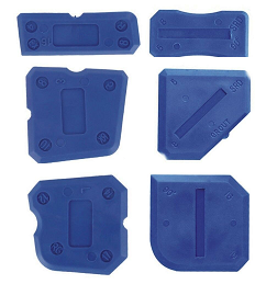 Replacement Fugi 5 Piece Grouting & Silicone Profiling & Applicator Tool Kit