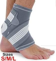 Small Ankle Support Brace Compression Achilles Tendon Strap Foot Sprains Injury