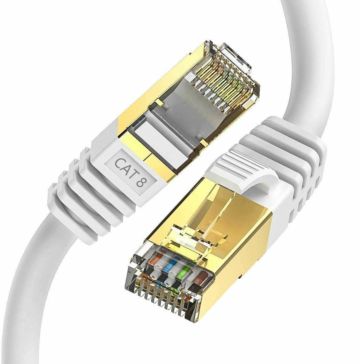 1.5M Cat8 Rj45 Network Ethernet Cable Sstp 40Gbps Gigabit Ultra Speed Patch Lan Cable
