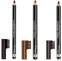 Grey Professional Eyebrow Pencil With Brush Comb