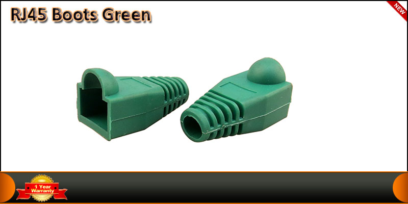 20K Rj45 Connector Boots Green