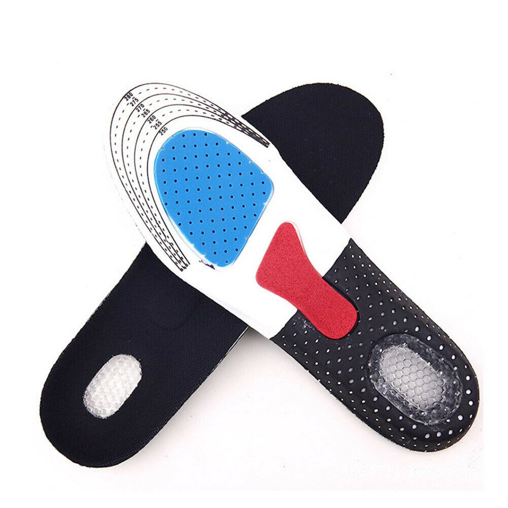 Cut To Size Orthotic Shoe Insoles For Arch Support Plantar Fasciitis Flat Feet Heel Pain
