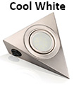 Led Mains Kitchen Under Cabinet Cupboard Triangle Light Kit Cool White