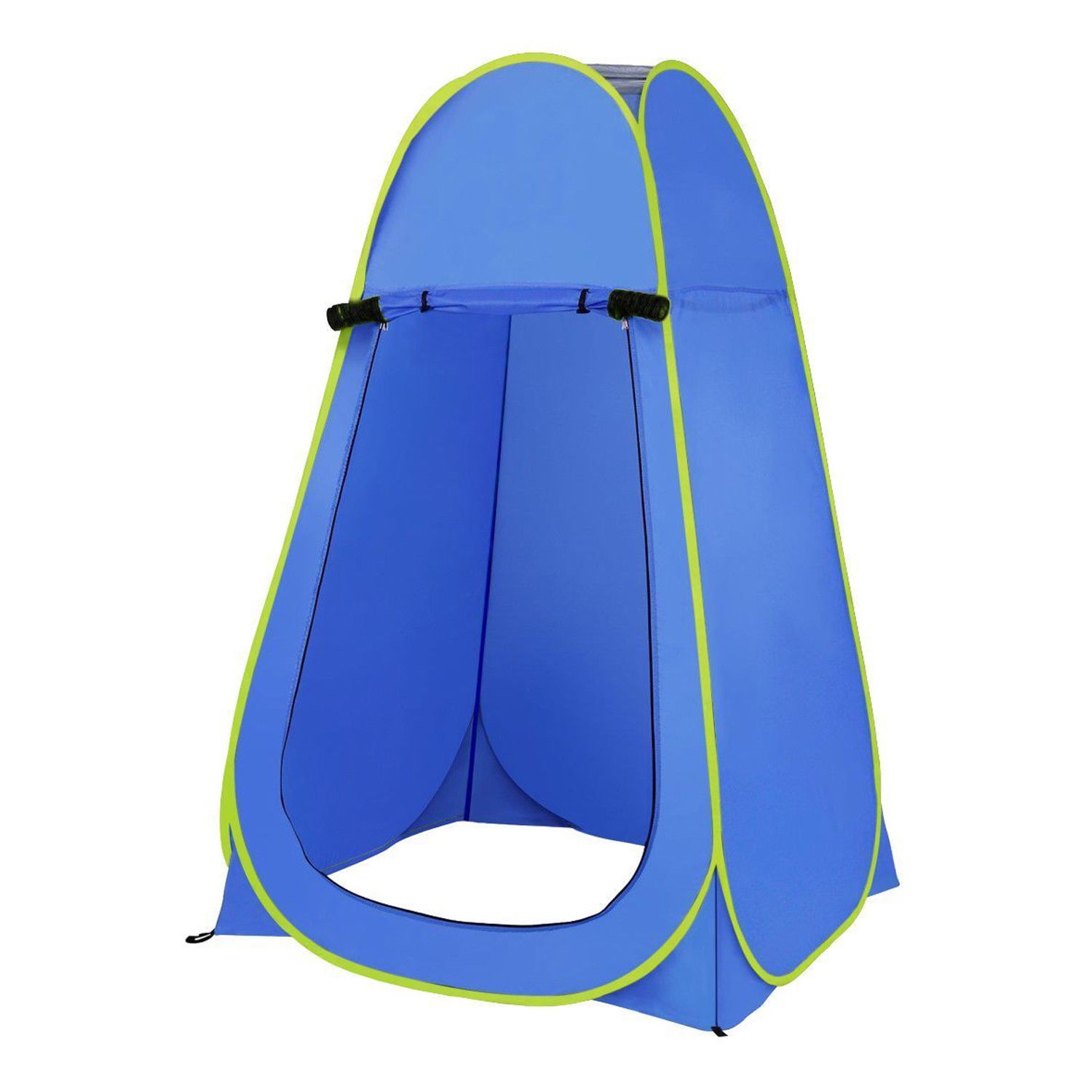 Blue Outdoor Portable Instant Pop Up Tent Camping Shower Toilet Privacy Changing Room