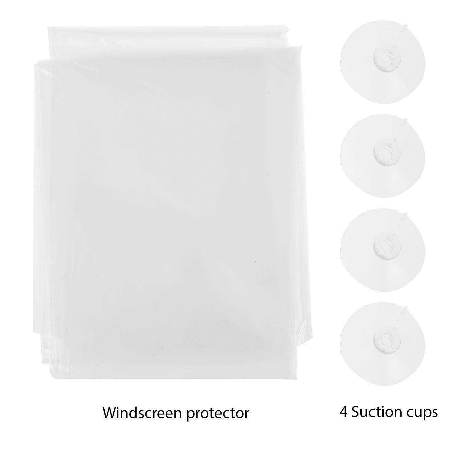 Universal Windscreen Frost Shield Cover Snow Ice Dust Protector Screen Guard Sun