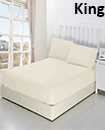 solid king fitted sheet 152*203+15 pillowcase 50*75cm*2