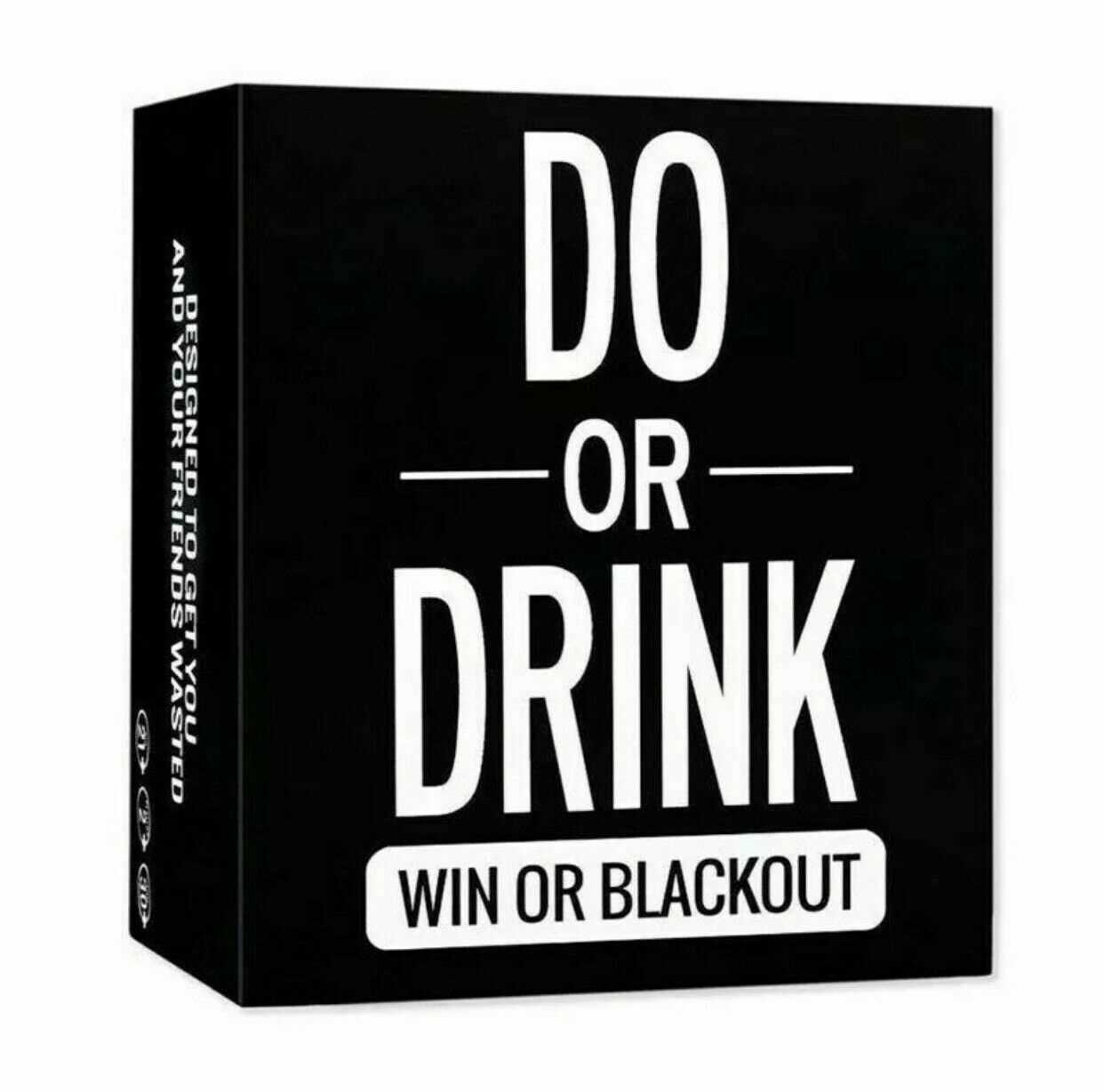 Do or Drink Game Card Fun Drinking Card Game for Adults Dare Shots Dirty Party