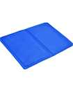 Keplin Pack of 2 Blue Cooling Gel Pillow Chilled Natural Comfort Sleeping Aid Body Cool Bed Mat Pad