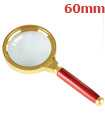 60mm Handheld 15X Magnifier Magnifying Glass Loupe Reading Jewellery Aid Big Large