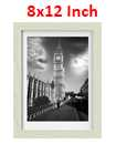 18 Inch By 12 Inch Oak Photo Frame White Picture Frame Poster Frames
