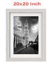 20 Inch By 20 Inch Off White Photo Frame White Picture Frame Poster Frames