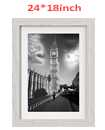 24 Inch By 18 Inch Off White Photo Frame White Picture Frame Poster Frames