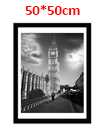 20 Inch By 20 Inch Black Photo Frame White Picture Frame Poster Frames