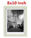 8 Inch By 10 Inch Oak Photo Frame White Picture Frame Poster Frames