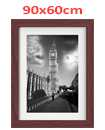 35 Inch By 23 Inch Walnut Photo Frame White Picture Frame Poster Frames