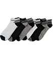 6 Pairs Mens Trainer Liner Ankle Socks Funky Designs Adults Sports  (OPTION 2 )
