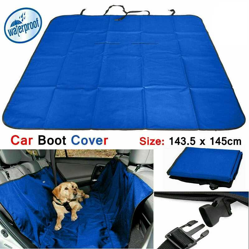 Blue Large Heavy Duty Waterproof Car Boot Liner Protector Dirt Pet Dog Floor Cover
