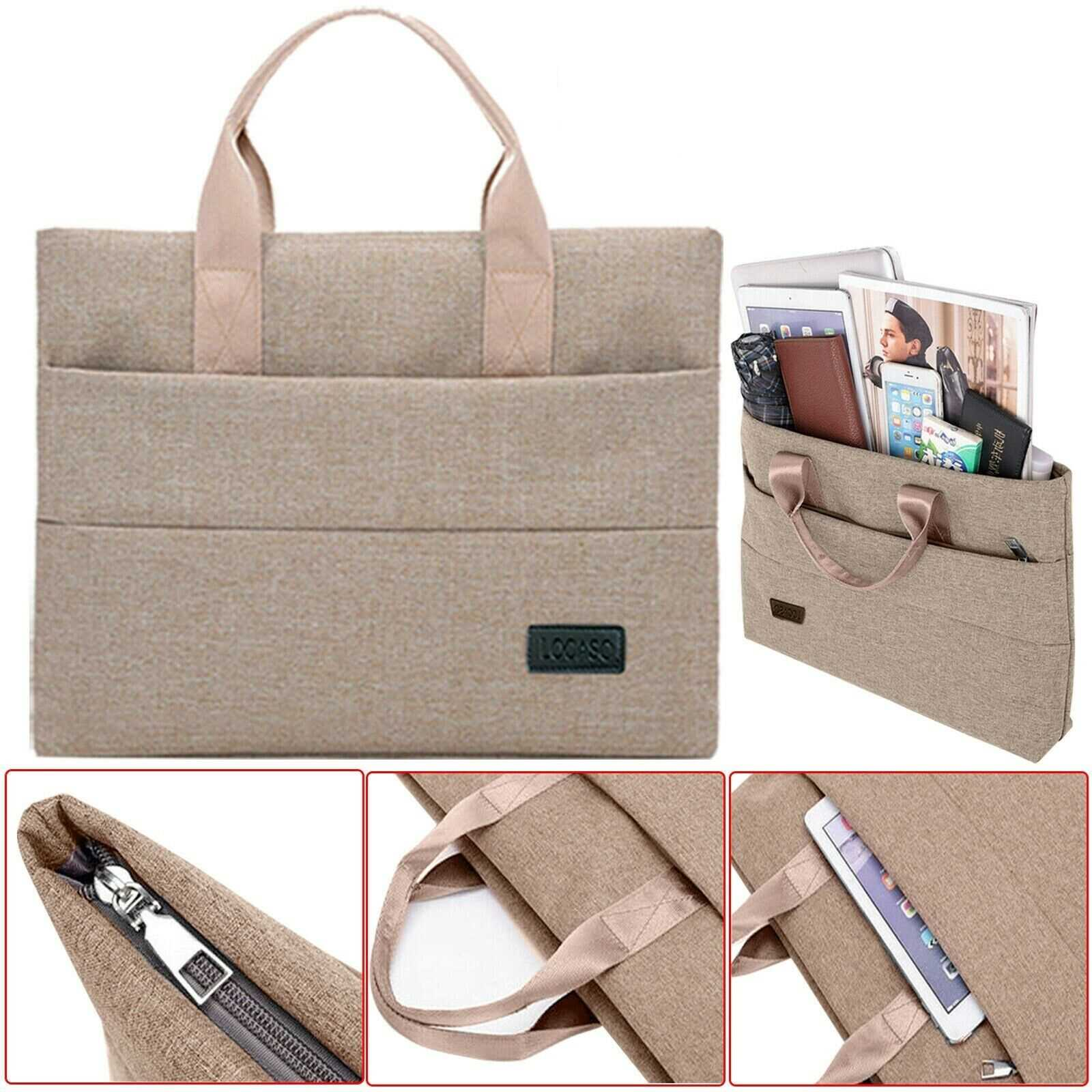 13 Inch Beige Notebook Laptop Sleeve Bag Cover Case For Apple MacBook Air Pro