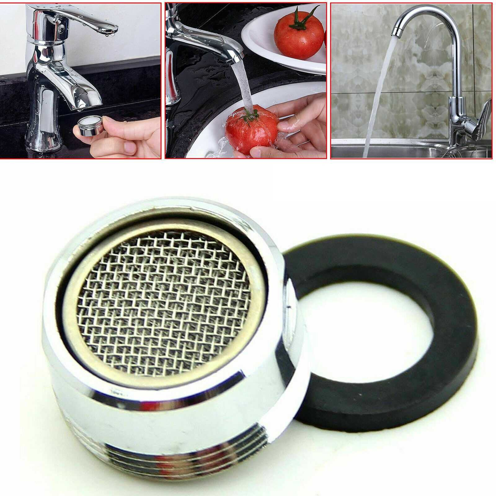 24Mm Male Tap Aerator Water Saving Faucet Nozzle Spout End Diffuser Filter